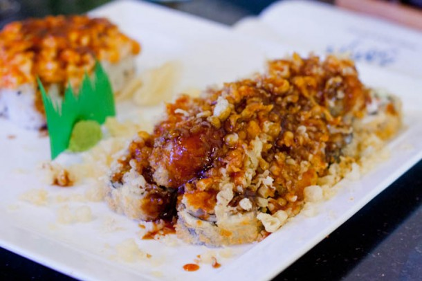 Soya Anese Restaurant Virginia Beach Volcano Roll 1 Of
